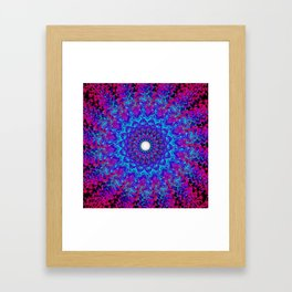 Fluid Abstract 36 Framed Art Print