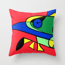 Print #13 Throw Pillow