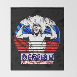 Khabib Nurmagomedov Throw Blanket