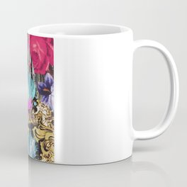 Fashion | Chic aztec pink teal zebra stripes leopard pattern Coffee Mug