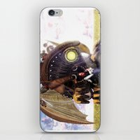 bioshock infinite iPhone & iPod Skins featuring Bioshock Infinite: The SongBird by GIOdesign