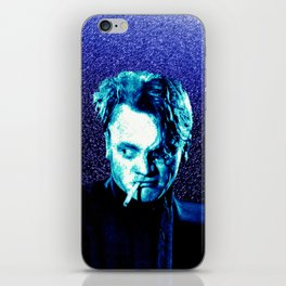 James Cagney, blue Madness. iPhone Skin