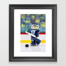 Hockey Night in Canada Framed Art Print