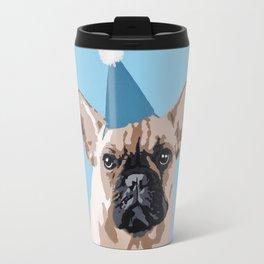 Milo in blue Travel Mug