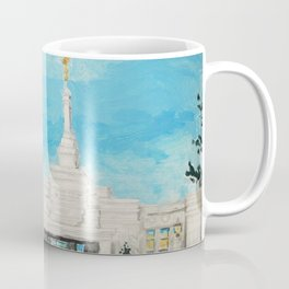Reno Nevada LDS Temple Painting Coffee Mug