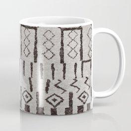 (N7) Original Moroccan Brown Artwork Coffee Mug