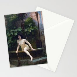 TRUTH COMING OUT OF HER WELL TO SHAME MANKIND - JEAN-LEON GEROME Stationery Cards