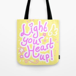 Light your heart up! Tote Bag