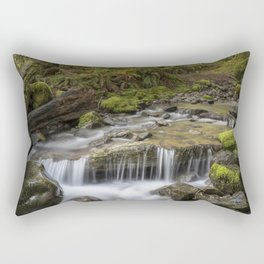 Cheeny Creek in the Forest Rectangular Pillow