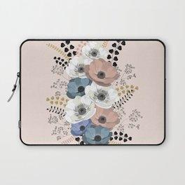 Anemones bouquet pink pastel Laptop Sleeve