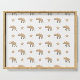 ELEPHANT & STARS Serving Tray