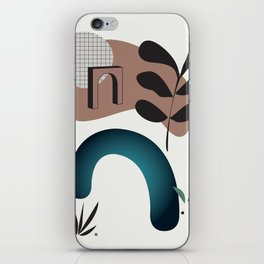 Shape study #8 - Synthesis Collection iPhone Skin
