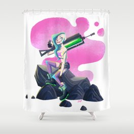 My Tangirl! Shower Curtain