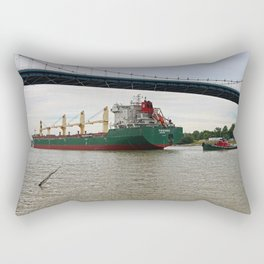 Pochards Under the Anthony Wayne Rectangular Pillow