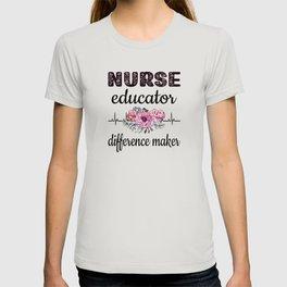 Certified Nurse Educator Appreciation RN Nursing T-shirt