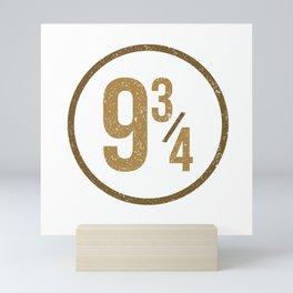 9 3/4 Mini Art Print