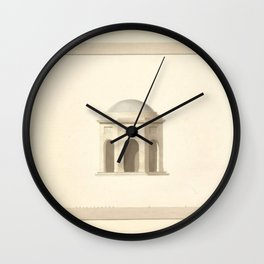 Classical Architecture Wall Clock