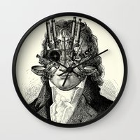 steampunk Wall Clocks featuring Steampunk by DIVIDUS