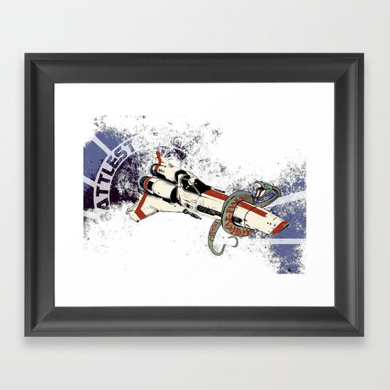 Viper Mark II Framed Art Print