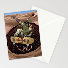Boba Fett Shreds Stationery Cards