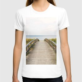 Path to the Beach (Color) T-shirt