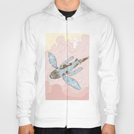 The Dragonfly Blue Hoody