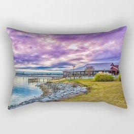 Barnett Reservoir Rectangular Pillow