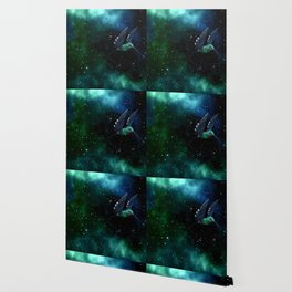 Space Hummingbird Wallpaper