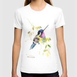 Little bird children illustration hummingbird T-shirt