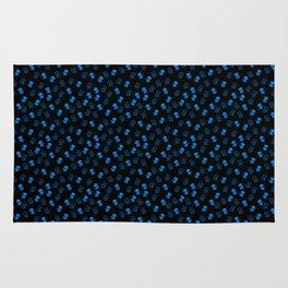 Aliens-Blue Rug