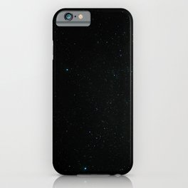 Night at the southern skies II iPhone Case
