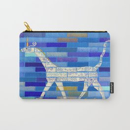 Snake-headed dragon illustration from Babylon Ishtar Gate for history lovers, archeology enthusiasts, or dragons and unicorns fans Carry-All Pouch