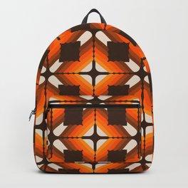 Golden Granny Square Backpack