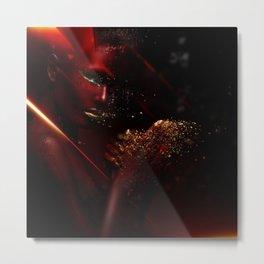 Red Girl no.1 Metal Print