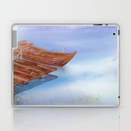 Perfect reflection of beautiful sky | Miharu Shirahata Laptop & iPad Skin