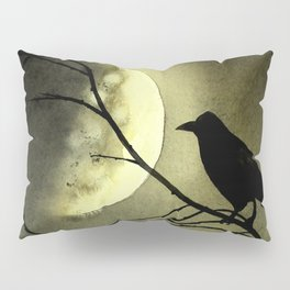 Crow Moon Pillow Sham