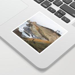Cliffs of Cape Kiwanda Sticker