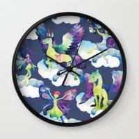 Fly into my dreams Wall Clock