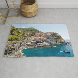Manarola is one of the most beautiful islands of Cinque Terre Rug