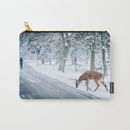 The chill of winter Carry-All Pouch