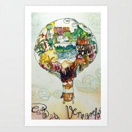 This is Venezuela Art Print