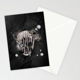 Zebra Skull Stationery Cards