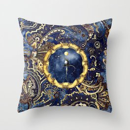 Little Nightingale Throw Pillow