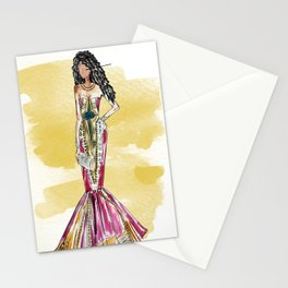 Date Night (yellow version) Stationery Cards