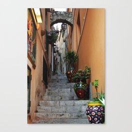 Alley in Sicily Canvas Print