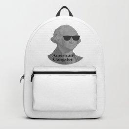 George Washington Cool Sunglasses American Gangster Backpack
