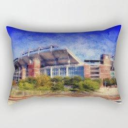 M and T Stadium, Home of Ravens, Football, Purple, Baltimore, Maryland  Rectangular Pillow