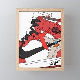 Jordan I poster Framed Mini Art Print
