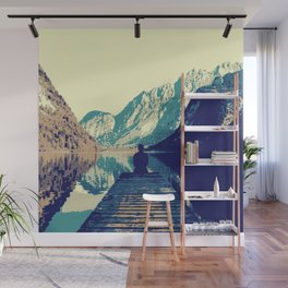 Vintage Mountain Zen Wall Mural