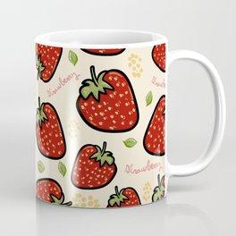 Strawberries pattern Coffee Mug